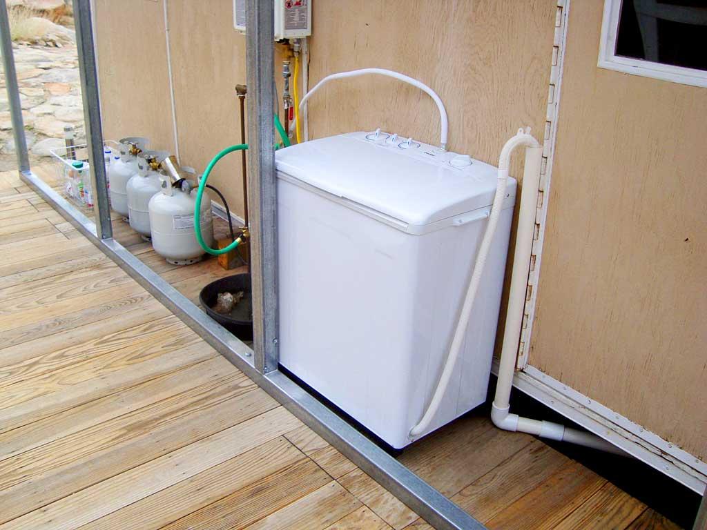 The Danby DTT420 Twin Tub Portable Washing Machine