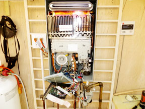 Rheem Tankless Water Heater repairing a rheem tankless water heater leak